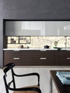 Modular fitted kitchen INDada by DADA design Nicola Gallizia