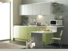 Cozinha pequena: bonita, confortável, prática, funcional, charmosa e sofisticada. Através da escolha dos móveis e eletrodomésticos corretos uma cozinha pequena pode preencher todos estes requisitos, e ainda surpreender pela facilidade e rapidez para mantê-la sempre limpinha.