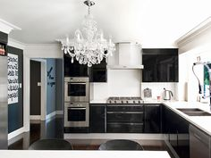 Chandelier: Chandelier in the kitchen... LOVE!