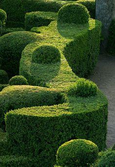 boxwood shapes | Les jardins de Marqueyssac - Belvédère de la Dordogne (tourisme ...