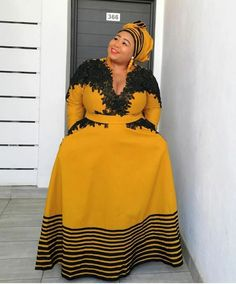 Xhosa Attire, African Attire, African Wear, African Dress, Traditional African Clothing, Traditional Styles, Traditional Wedding, Tsonga Traditional Dresses, African Print Clothing