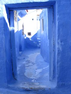 The Blue City, Chefchaouen, Morocco