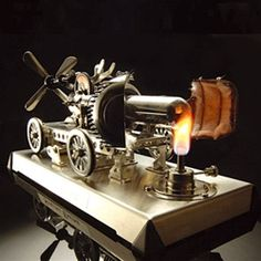 Stirling Engine $130  http://www.makershed.com/ProductDetails.asp?ProductCode=MKGK5