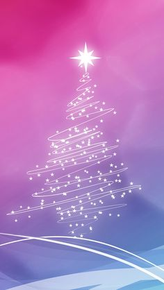 Christmas Lights Tree iPhone Wallpaper and iPhone SE Wallpaper Snowflake Wallpaper, Merry Christmas Wallpaper, Holiday Wallpaper, Winter Wallpaper, Iphone 5s Wallpaper, Wallpaper Backgrounds, Mobile Wallpaper, Iphone Wallpapers, Cool Wallpapers For Phones