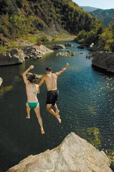 Loved swimming there with Matty.Red Rock,Santa Ynez in Santa Barbara County,CA. <3