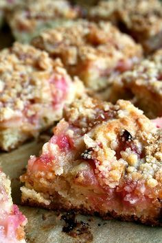 Rhubarb Buckle, I just need the fresh rhubarb!