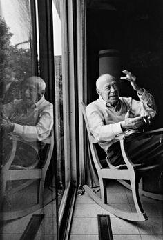 Henry Miller, 1962 -by Manfred Kreiner