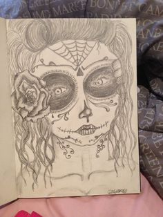 Mexican death mask ✏