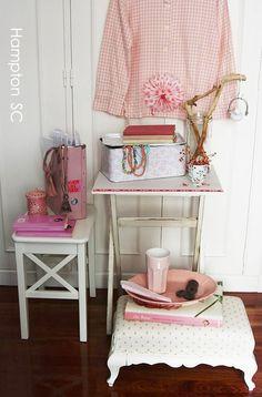Decoración en rosa
