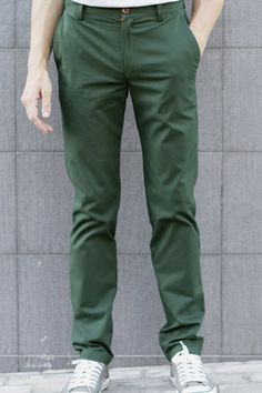 be77f093ad Forest Green Chinos - Limited Edition