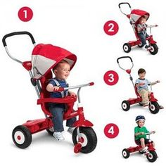 Best Price Radio Flyer All-Terrain Stroll 'N' Trike