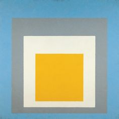 """vdvintagedesign: Homage to the Square - """"Ascending"""" - Josef Albers (1953)"""