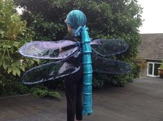Cool Halloween costume insect / butterfly / dragonfly lovers