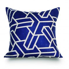 Anvers pillow blue