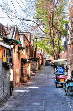 Hutongs, Beijing, China. 2004.