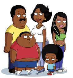 One of my favorite Tv shows I know & Love is The Cleveland Show
