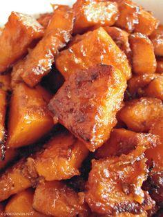 Jam Hands: Skillet Candied Sweet Potatoes