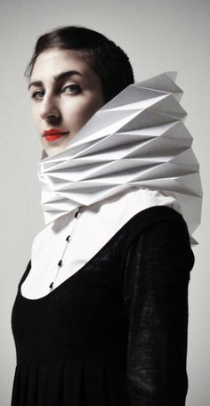 origami hood by VEASYBLE project created by GAIA    Gloria, Arianna, Ilaria and Adele