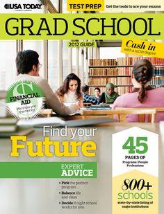 #GradSchool 2012 Guide    www.survivingcollege.com