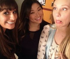 25 Awesome Behind-the-Scenes Pics From the 100th Episode of 'Glee' - J-14