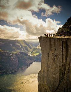 Lysefjord, Norway by Dennis Toft Christensen
