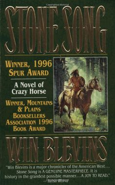 Win Blevins originally wrote 3 other manuscripts, using what he knew as a historian. Something was missing.  He set aside all that and let Crazy Horse tell his story  of how he lived his life according to his vision - even when it looked, well, crazy.  What's your vision?    Stone Song: A Novel of the Life of Crazy Horse: Win Blevins: Amazon.com: Books  #pinspiration  As a writer Win has been an inspiration to me. Thanks Win