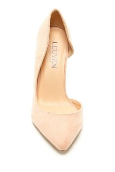 Sexy pump in a perfect blush/nude. $29
