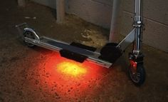Fuze LED Deck Lights for Scooters and Skate Boards