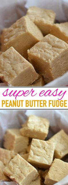 Best and Easiest Peanut Butter Fudge Delicious and easy peanut butter fudge recipe, passed down for generations!Delicious and easy peanut butter fudge recipe, passed down for generations! Peanut Butter Recipes, Fudge Recipes, Candy Recipes, Easy Peanut Butter Fudge, Easy Fudge, Homemade Fudge Easy, Peanut Butter Candy, Homemade Butter, Baking Recipes