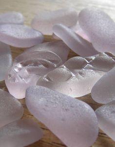 amethyst or sun purple sea glass