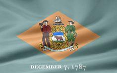 Delaware flag image