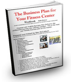 Business plan for fitness center