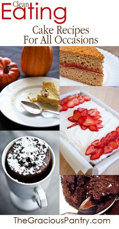 Clean Eating Cake Recipes