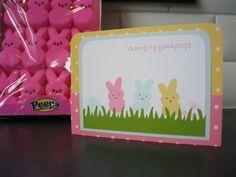 Cute #Peeps card!
