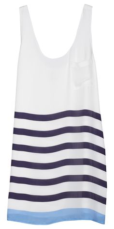 joie striped dress