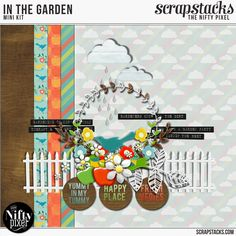 The Nifty Pixel| Thinking Outside the Square: THE MAY 2015 DIGI SCRAP PARADE IS HERE!