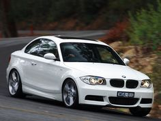 ONE of my dream cars, to go with my dream house ;-) --white BMW