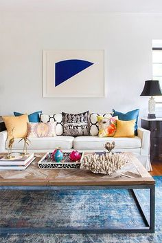 Home Decor Ideas for Small Living Room 2018 Modern living room Cozy living room Home decor ideas living room Living room decor apartment Sectional living room Living room design A Budget Colourful Living Room, Eclectic Living Room, Cozy Living Rooms, Interior Design Living Room, Living Room Designs, Living Room Decor, Room Interior, Kitchen Interior, Living Spaces