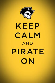 Mobile Wallpaper: Keep Calm and Pirate On