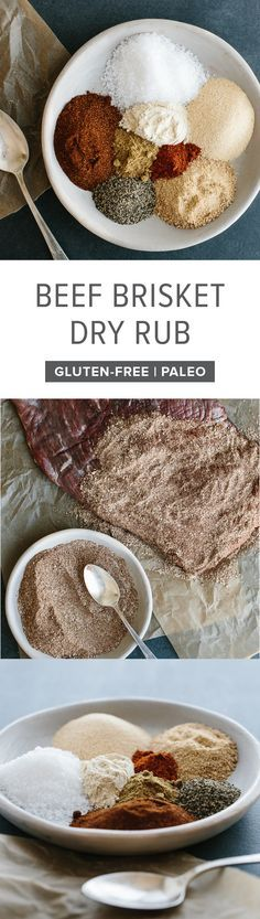This brisket rub is the perfect combination of sweet and smoky. It adds enormous flavor to smoked brisket or oven brisket, making it (in my opinion) the best brisket rub.
