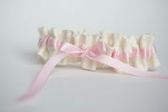 simple-pink-garter-with-ivory-The-Garter-Girl-by-Julianne-Smith