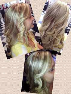 Blonde Highlight with Long layers