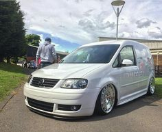 """212 Likes, 2 Comments - MODIFIED VANS (@modifiedvans) on Instagram: """"@onur.karakayaaa 's Caddy Is A Sick Whip  #ModifiedVans  #Volkswagen  #Caddy  #Caddy2K"""""""