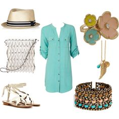 Belt it up and it's perfect!..Untitled #15, created by shelley-starr on Polyvore