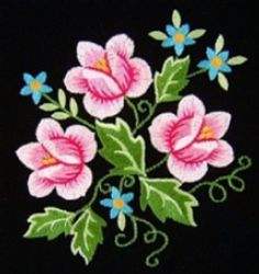 polish8 - Floral Embroidery Design