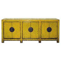 Yellow Shanxi Buffet by One Kings Lane $2,949