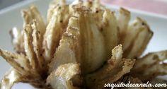 Flor cebolla frita / Fried onion flower