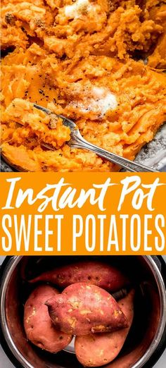 Instant Pot Sweet Potatoes cook up quicker than in the oven and they're deliciously fluffy and creamy every time! Learn how to make the BEST sweet potatoes in the pressure cooker in just about 30 minutes!// baked // cubed // recipes // whole // healthy Sweet Potato Dog Chews, Steamed Sweet Potato, Cubed Sweet Potatoes, Cooking Sweet Potatoes, Sweet Potatoes For Dogs, Sweet Potato Recipes, Instant Pot Pressure Cooker, Pressure Cooker Recipes, Cube Recipe