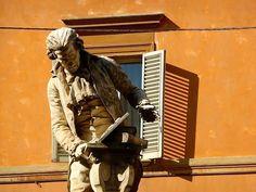 Pace, Bologna, Bella, Statue, Sweet, Italia, Candy, Sculptures, Sculpture