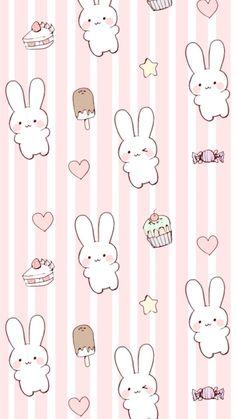 Cute kawaii bunny wallpaper background for iphone rabbit wallpaper, wallpaper iphone cute Cute Wallpaper For Phone, Cute Patterns Wallpaper, Cute Anime Wallpaper, Pastel Wallpaper, Pink Rabbit Wallpaper, Cute Wallpaper Backgrounds, Cute Cartoon Wallpapers, Trendy Wallpaper, Cute Kawaii Backgrounds